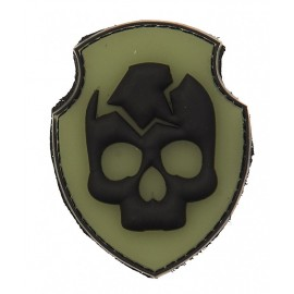 Patch 3D ghost skull