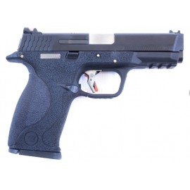 Pistola E Force Big Bird Vented bk slide/silver barrel WE
