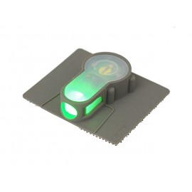 LED strobe w velcro green light - foliage
