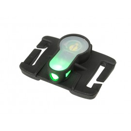 LED strobe molle green light - tan