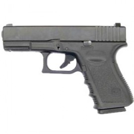 Pistola G23 Gas BlowBack (ABS Slide) bk [KJW]